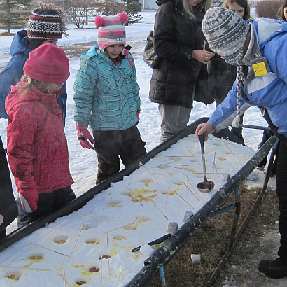 Chinook Honey farm Christmas at the Hive Alberta beekeeping