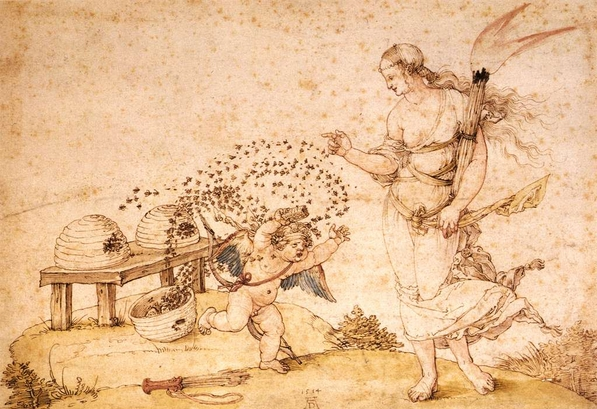Cupid honey thief Durer