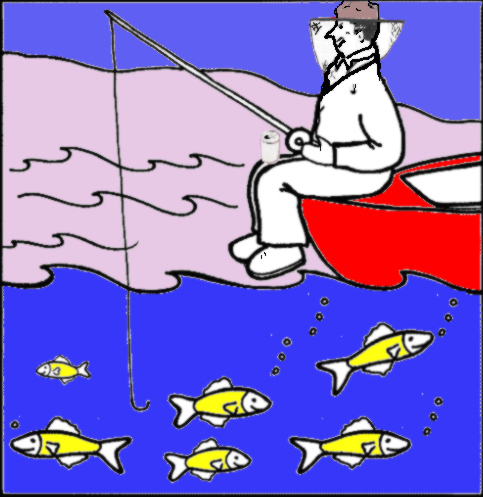 Bad Beekeeping Web Site give a man a fish fishing